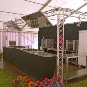 Demonstration Mobile Kitchen