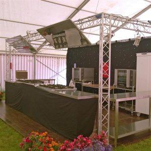 Demonstration Mobile Kitchen